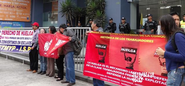 """""""La Huelga se respeta, la Huelga no se toca"""" (Video)"""