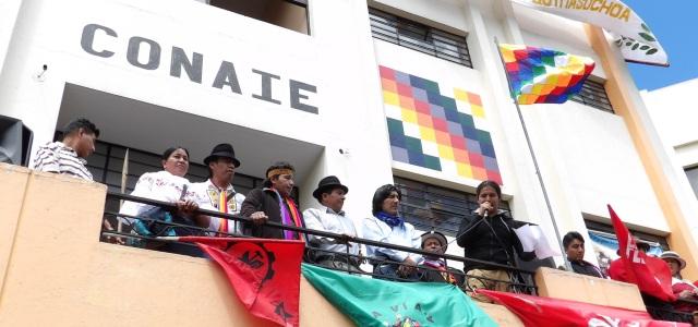 """""""El conflicto entre la Conaie y la revolución ciudadana"""""""