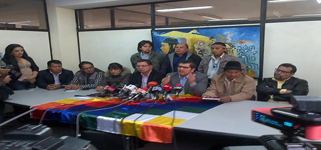 Convocan al pueblo a movilización nacional el jueves 17 de marzo