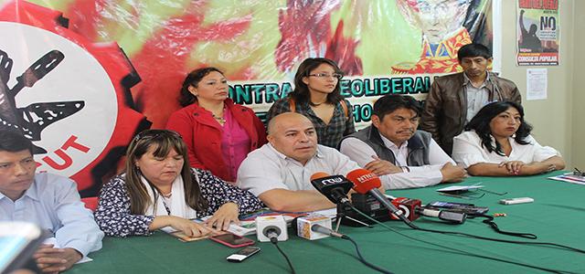 Trabajadores se movilizan este jueves 14 de abril en Quito