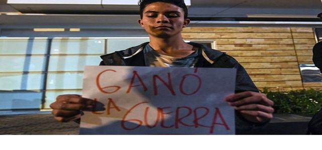 Campaña de miedo y terror dio lugar a triunfo del No en Colombia