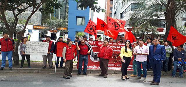 56 obreros de Explocen C.A. reclaman estabilidad laboral